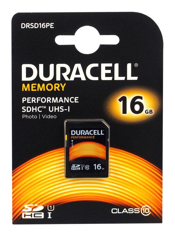 Karta Pamieci Sdhc Duracell 16gb Class 10 Uhs I Sklep Internetowy