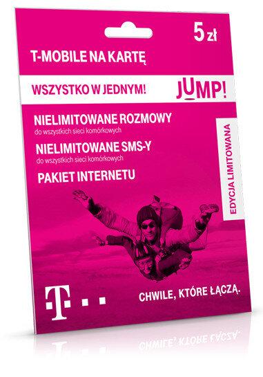 T Mobile Na Karte.Starter T Mobile Jump Na Kartę 5 Zł