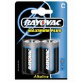 2 x Rayovac Maximum Plus LR14 C MN1400 4014 (blister)