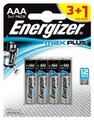 4 x bateria alkaliczna Energizer MAX Plus LR03/AAA (blister)