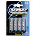 4 x Rayovac Maximum Plus LR6 AA MN1500 4006 (blister)