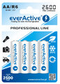 Akumulatory everActive R6 AA Ni-MH 2600 mAh ready to use