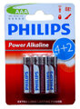 6 x Philips PowerLife LR03/AAA