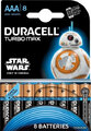 Baterie alkaliczne Duracell Duralock Turbo Max Star Wars LR03/AAA (blister)