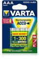 Akumulatorki Varta Ready2use R03 AAA Ni-MH 1000mAh