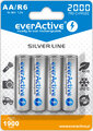 "Akumulatory EverActive R6 AA Ni-MH 2000mAh ready to use ""Silver line"""