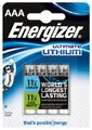 bateria foto litowa Energizer L92 Ultimate Lithium R03 AAA