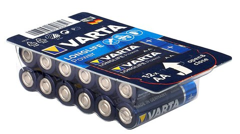 12 x Varta Longlife Power LR6/AA 4906 (High Energy)