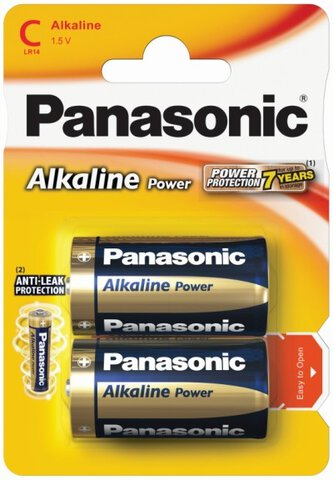 Baterie Panasonic Alkaline Power LR14 / C (blister)