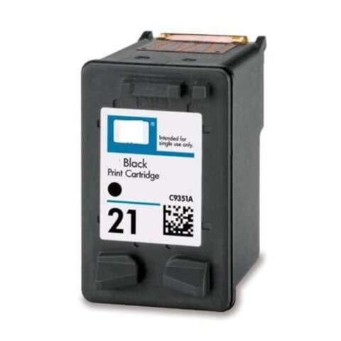 Tusz HP 21 XL Black 22 ml C9351AE do DeskJet 3940, 1320, 1455, F2280, F350, PSC 1417, PSC 1415, PSC 1410