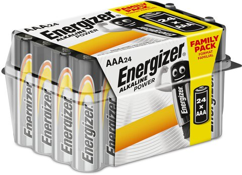 24 x bateria alkaliczna Energizer Alkaline Power LR03/AAA (box) Family Pack