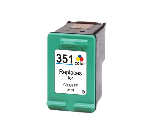 Tusz HP 351XL 18,8 ml Kolor CB338EE do DeskJet D4360 D4260 PhotoSmart D5360 C4280 C4340 OfficeJet J6415 J5730