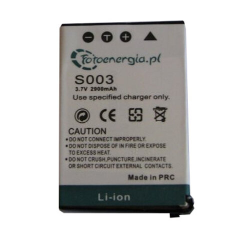 Akumulator CGA-S003 do Panasonic li-ion 500mAh