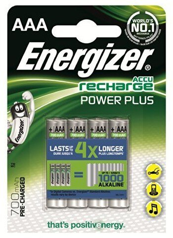 Akumulatorki Energizer Power Plus R03 AAA Ni-MH 700mAh