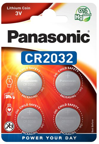 4 x bateria litowa mini Panasonic CR2032