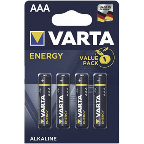 4 x Varta ENERGY LR03/AAA Value Pack 4103