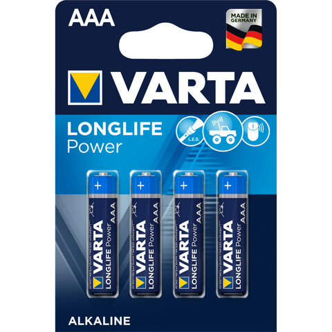 4 x Varta Longlife Power LR03/AAA 4903 (High Energy)
