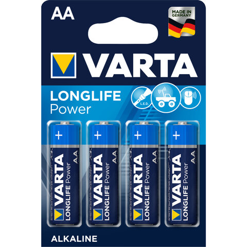 4 x Varta Longlife Power LR6/AA 4906 (High Energy)