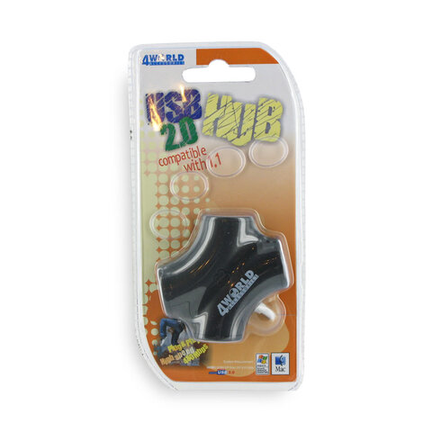 HUB USB 4 porty 4World