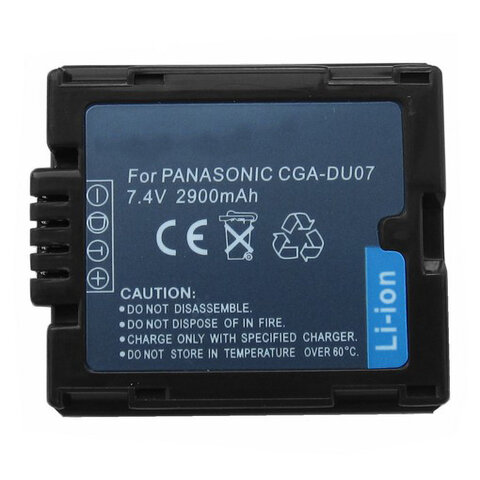 Akumulator CGA-DU07 do Panasonic li-ion 700mAh