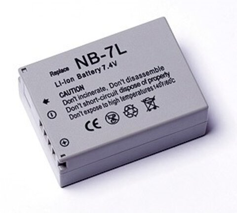 Akumulator NB-7L do Canon PowerShot G10, PowerShot G11 li-ion 1000mAh