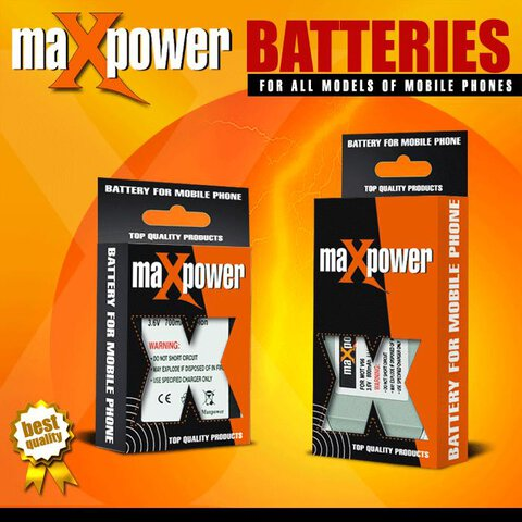 Bateria maXpower do Nokia 6100/6260/7200 Li-ion 1000mAh (BL-4C)