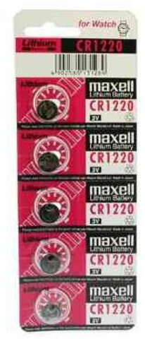 Baterie litowe Maxell CR1220