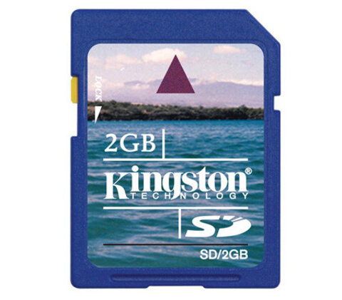 Karta pamięci Kingston SD 2GB