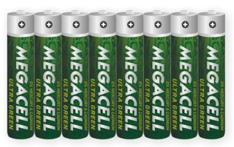 Baterie Megacell Ultra Green R03 AAA (taca)