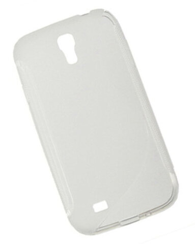 "Nakładka (Back Cover) ""S-Case"" Samsung Galaxy S4 white transparent"