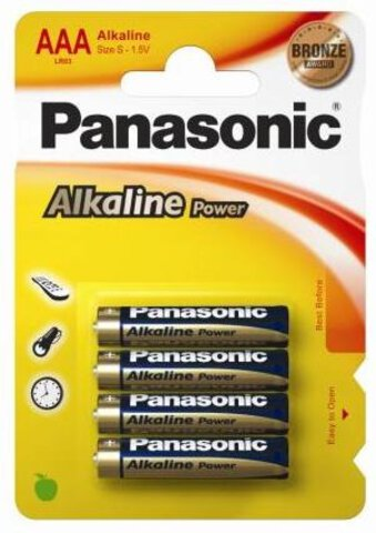 Panasonic Power Alkaline LR03 AAA