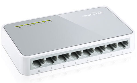 Switch FAST ETHERNET 8-portowy TP-LINK TL-SF1008D