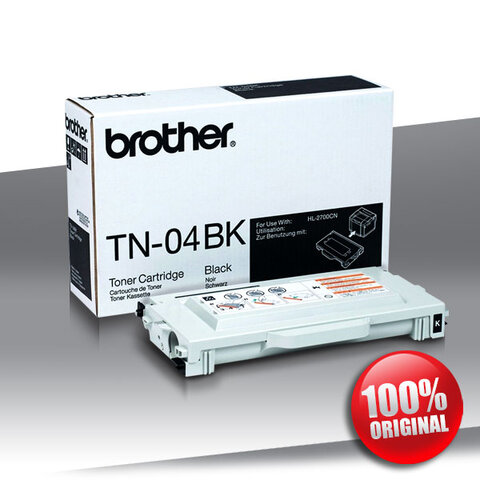 Toner Brother TN-04BK HL-2700CN MFC-9420CN BLACK Oryginalny
