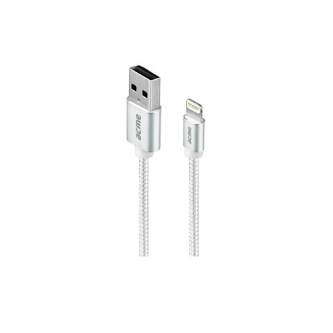 Acme Europe kabel USB - Lightning 1,0 m srebrny CB2031S