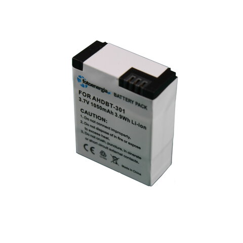 Akumulator AHDBT-301 do kamer GoPro Hero 3 li-ion 1000mAh