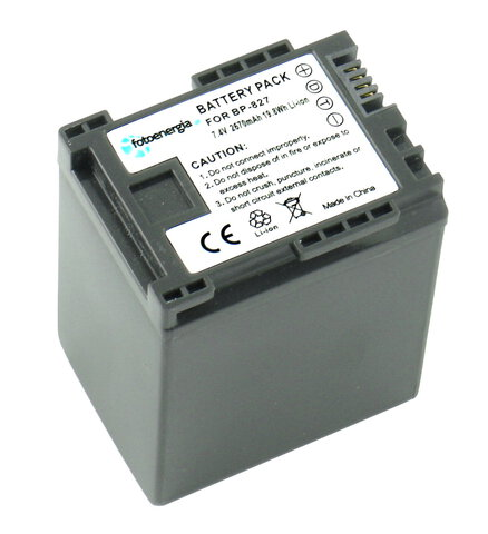 Akumulator BP-827 do Canon li-ion 2670mAh