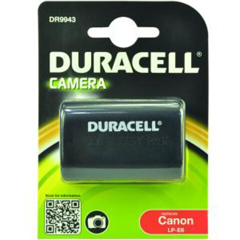 Akumulator DURACELL DR9943 LP-E6 do Canon 70D, 60Da, 60D