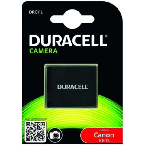 Akumulator DURACELL DRC11L NB-11L do Canon IXUS 125 HS, PowerShot A2300, SX400 IS 600mAh Li-ion Premium
