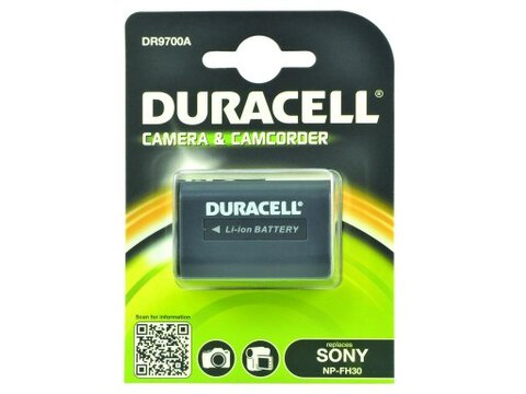 Akumulator DURACELL DR9700A NP-FH30 NP-FH50 NP-FP90 do Sony DCR-HC16 HDR-CX6