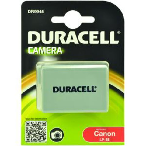 Akumulator DURACELL DR9945 LP-E8 do Canon 600D, 550D, 650D