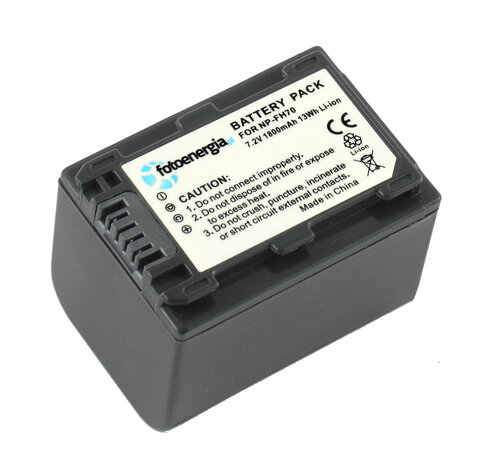 Akumulator NP-FH70 do Sony li-ion 1800mAh