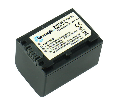 Akumulator NP-FV70 do Sony li-ion 1400mAh