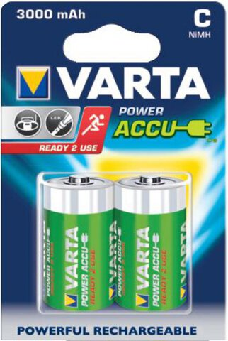 Akumulatorki Varta R14 C Ready2Use Ni-MH 3000mAh