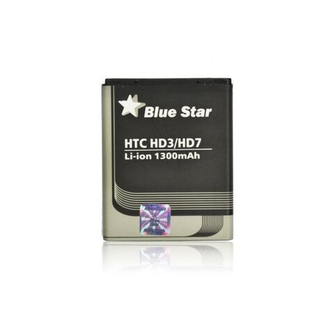Bateria Blue Star BA-S460 do HTC HD3 / HD7 / Wildfire S 1300mAh
