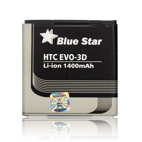 Bateria Blue Star BG86100 do HTC EVO-3D 1400mAh