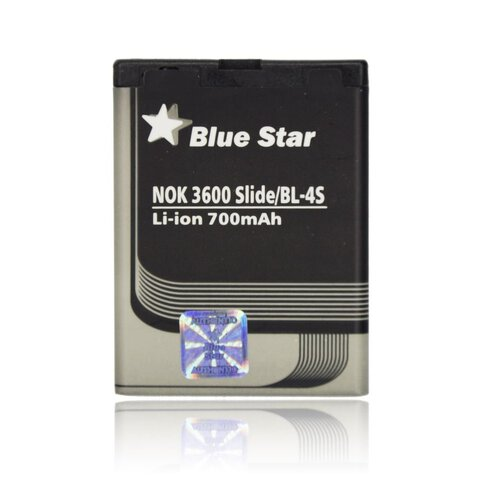 Bateria Blue Star BL-4S do Nokia 3600 Slide / 2680 Slide / 7610 700mAh