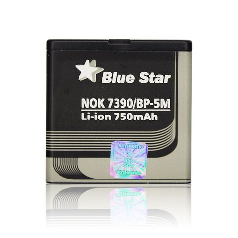 Bateria Blue Star BP-5M do Nokia 7390 / 6110 Navigator / 8600 Luna 750mAh