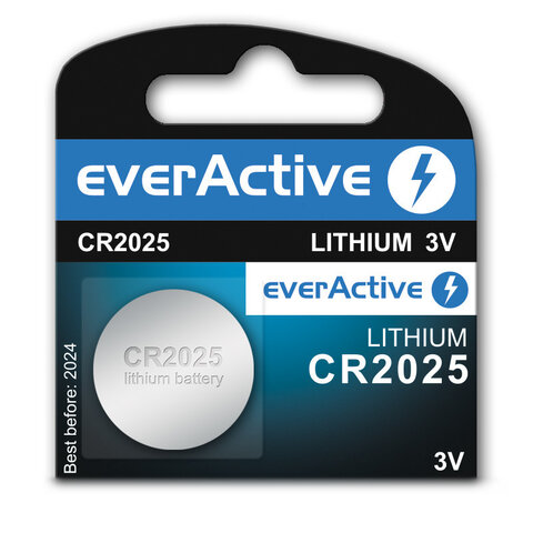 Bateria litowa mini EverActive CR2025