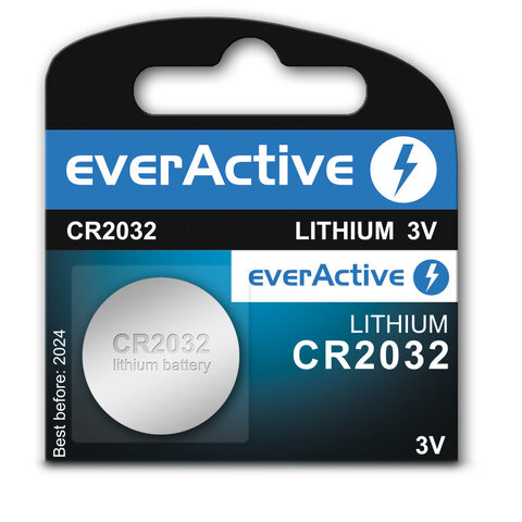 Bateria litowa mini everActive CR2032