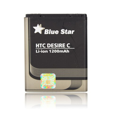 Bateria Premium Blue Star BA-S850 do HTC Desire C 1200mAh